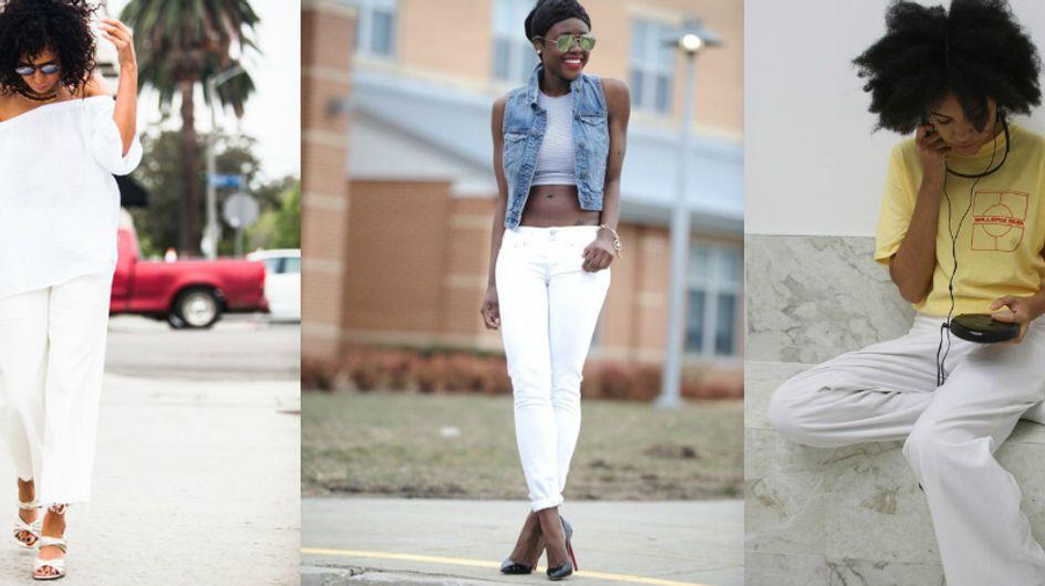 Calça branca é tendência e você também vai querer usar