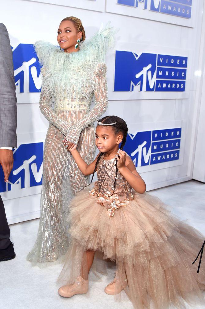 Beyoncé et Blue Ivy aux MTV VMAs 2016