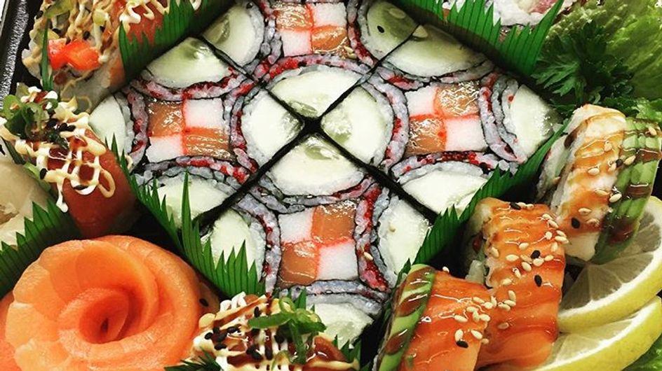Mosaic sushi o cuando Japón empezó a convertir su comida en arte
