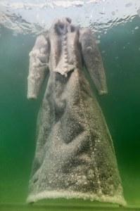 La robe de sel de l'artiste Sigalit Landau