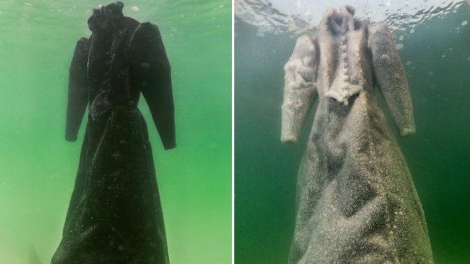 La mer peut transformer nos vêtements en véritables œuvres d'art (Photos)