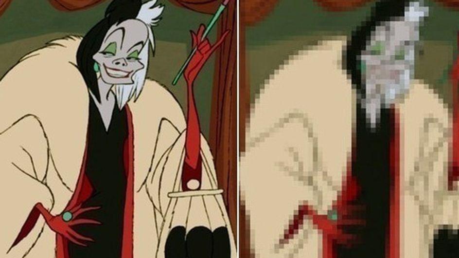 Pouvez-vous nommer le personnage Disney de l'image pixélisée ?