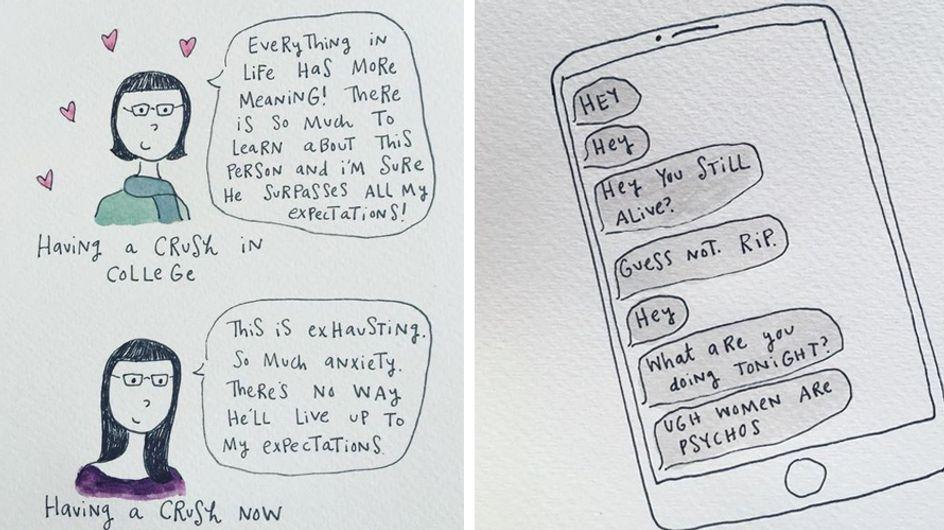 Diese brutal ehrlichen Comics zeigen das Leben, so wie es wirklich ist