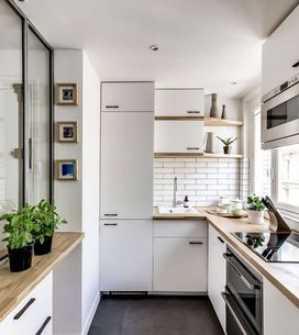 10 consejos para sacarle partido a una cocina estrecha