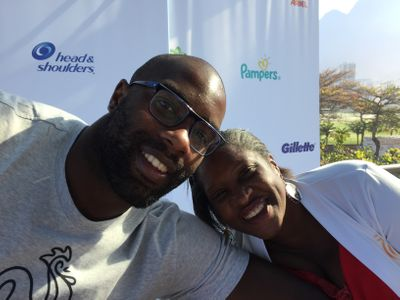 Teddy Riner et sa maman Marie-Pierre, complices