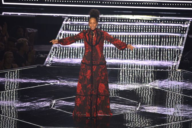 Alicia Keys aux MTV VMA 2016