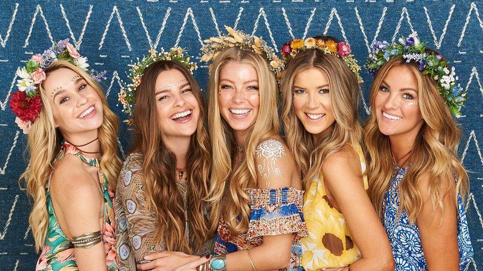 Los peinados con flores más bonitos de Pinterest