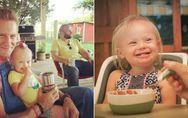 Die herzerwärmende Liebeserklärung eines Vater an seine Tochter mit Downsyndrom