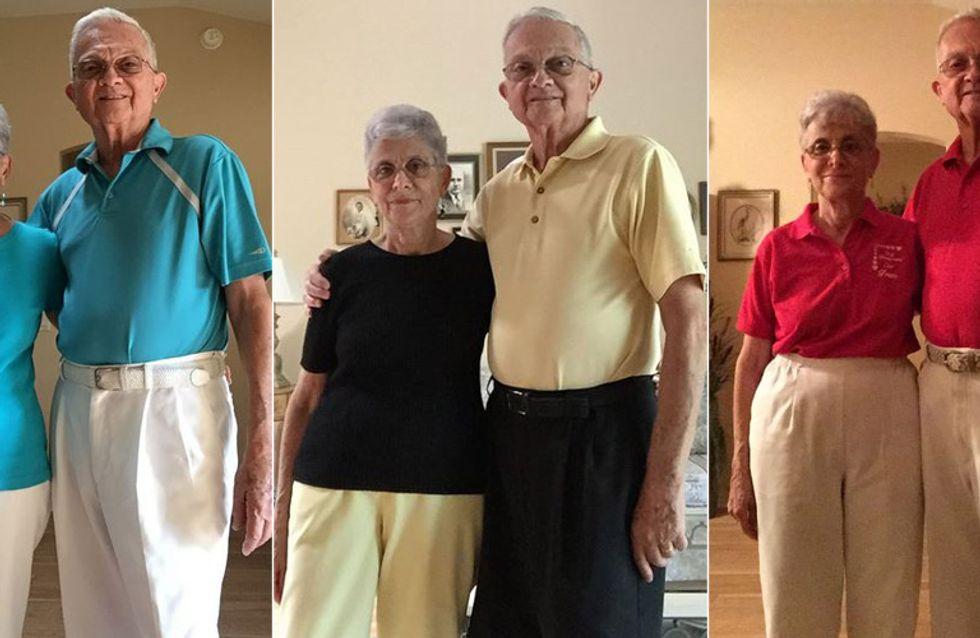 Relationship Goals: Dieses Paar ist seit 52 Jahren verheiratet und rockt den Partnerlook