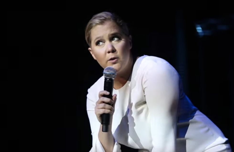 Watch Amy Schumer Shut Down Creepy-Ass Heckler