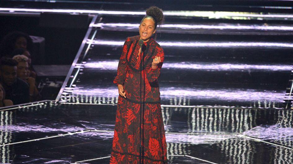 Alicia Keys y su emocionante discurso sobre la igualdad en los MTV VMA