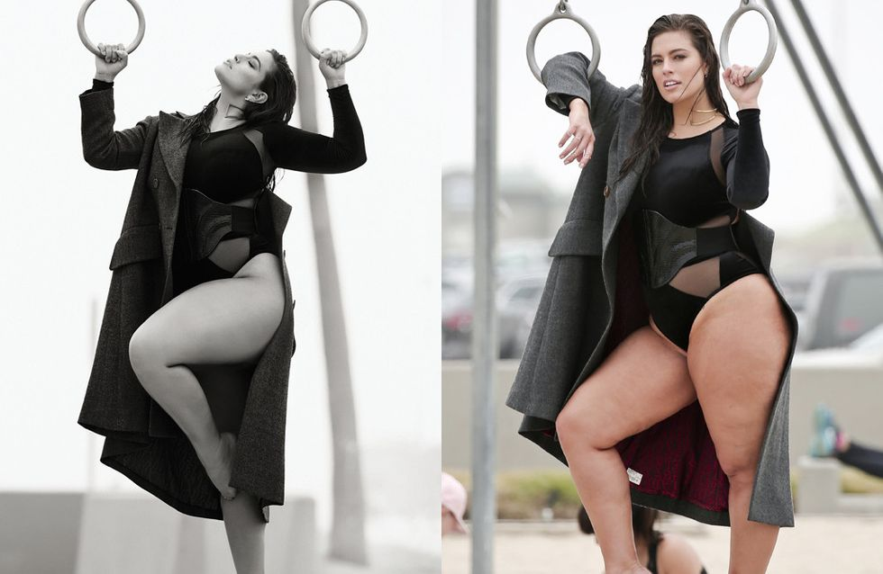 Ce magazine a-t-il vraiment osé retoucher Ashley Graham ?(Photos)