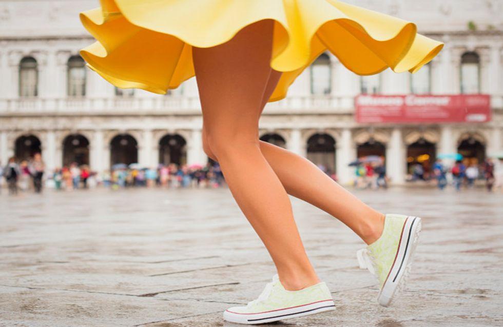 Lo que realmente pensamos las mujeres cuando llevamos una falda