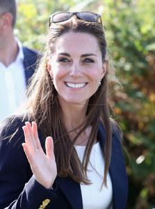 Kate Middleton lors de sa visite aux Îles Scilly