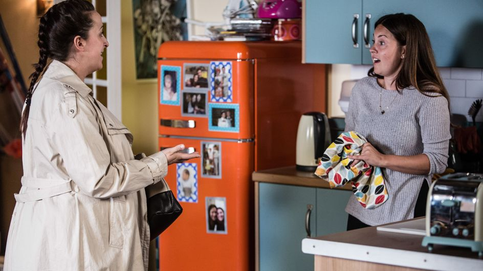 Eastenders 13/9 - Sonia's Offered A New Job Away From The Square
