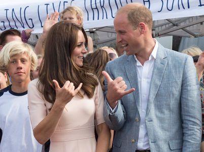 Kate Middleton et son mari le prince William en visite dans les Cornouailles