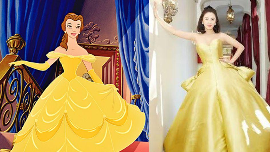 Cette réplique de la robe de la Belle et la Bête va vous donner des frissons... (Photos)