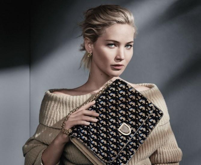Jennifer Lawrence dans la nouvelle campagne Dior