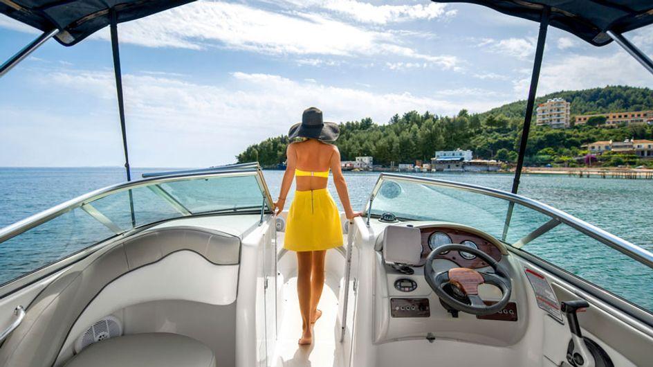 10 coisas para levar em conta quando te chamarem para um passeio de barco