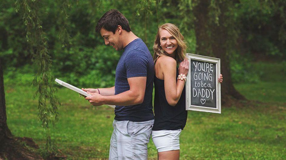 30 maneiras muito, muito criativas para contar para todos que você está grávida