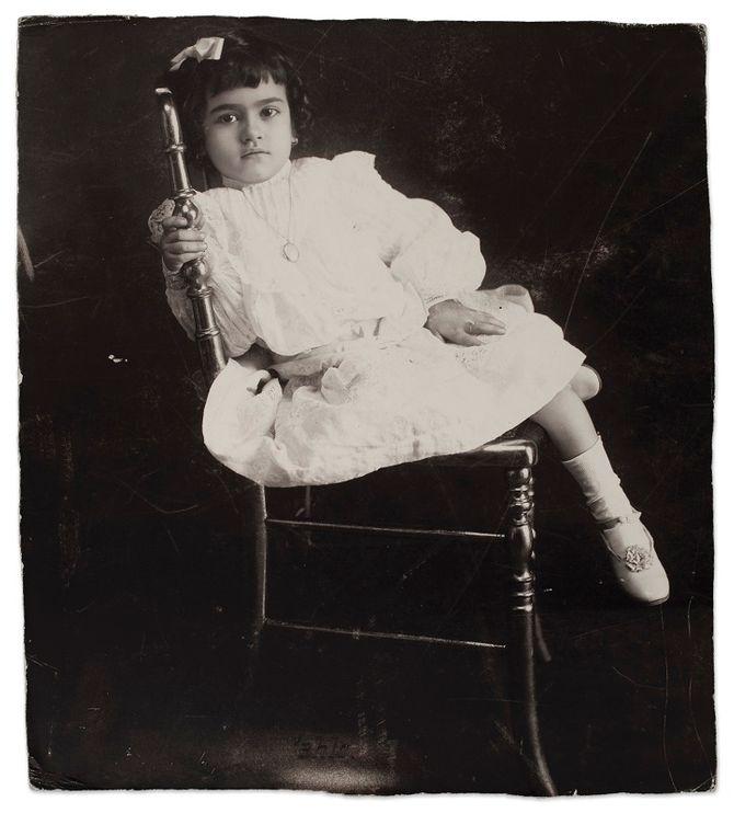 Frida Kahlo com 5 anos