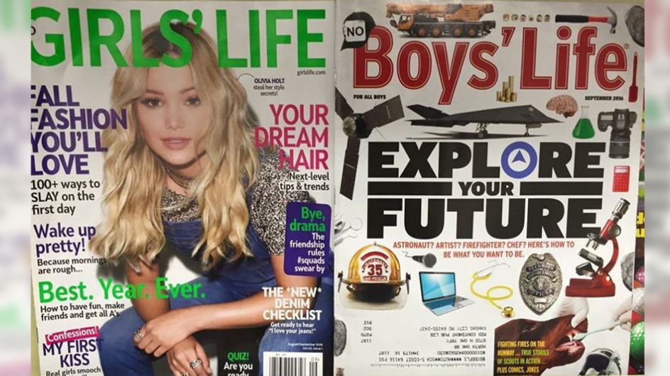 Diese Magazine sind der erschreckende Beweis, wie unterschiedlich wir Mädchen und Jungs behandeln