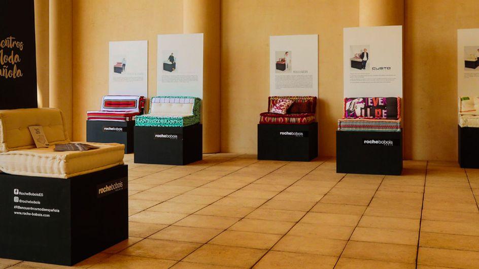"""""""Encuentros con la moda española"""", la exposición de Roche Bobois"""