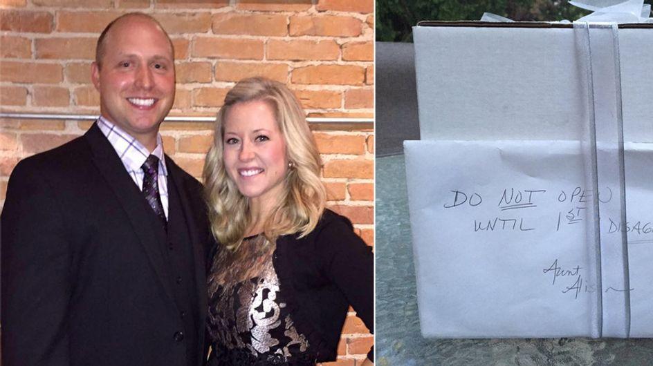 Warum dieses Paar 9 Jahre wartete, um ein ganz besonderes Hochzeitsgeschenk zu öffnen