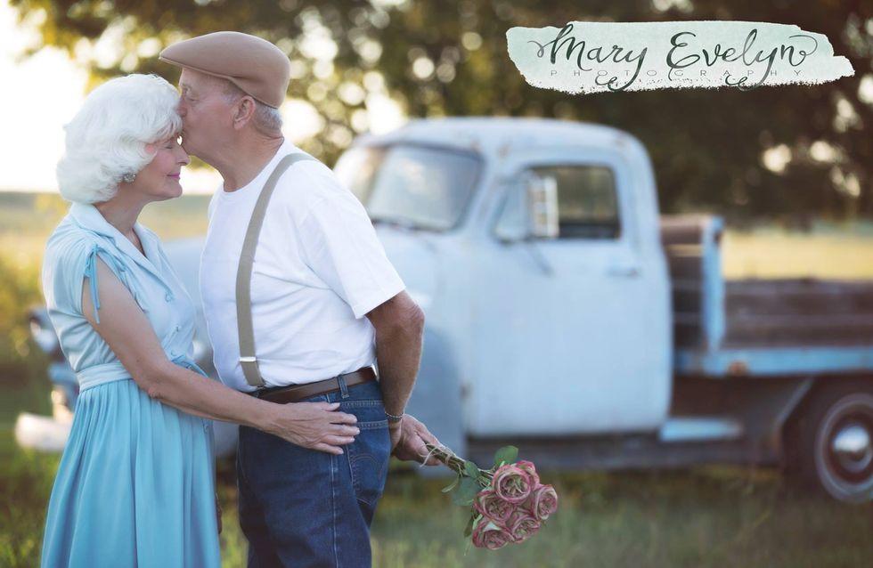 Nach 57 Jahren noch frisch verliebt: Dieses Paar feiert seine Liebe mit traumhaften Fotos
