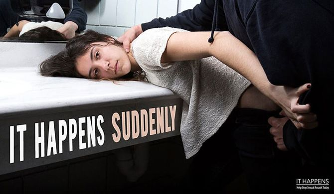 It happens suddenly
