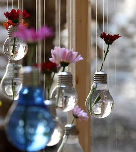 33 ideas DIY para reciclar bombillas antiguas