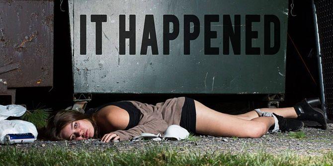 Une série photo choc contre le viol