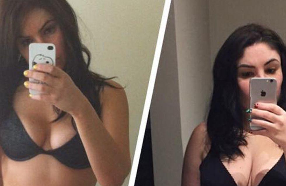 Cette jeune femme poste un avant/après ses grossesses pour une raison inspirante (Photos)