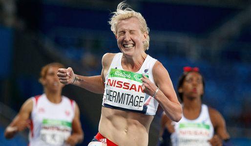 Georgina Hermatige wins T37 100m gold