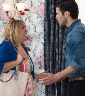 Hollyoaks 19/9 - Diego And Myra Prepare For An Important Visitor