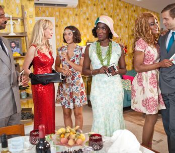 Hollyoaks 21/9 - Simone's Murder Mystery Night Descends Into Chaos