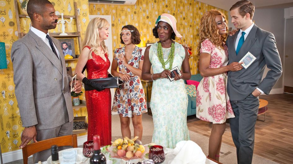 Hollyoaks 21/9 - Simone's Murder Mystery Night Descends Into Chaos