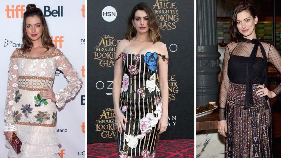 """Anne Hathaway sull'ossessione dei chili post parto: """"Mi piaccio così e non voglio cambiare!"""""""