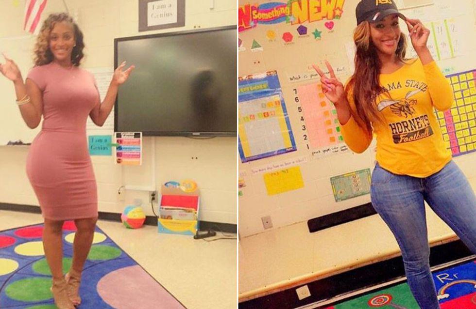 Ist das zu sexy? Diese Lehrerin sorgt mit ihren Outfits im Netz für Diskussion