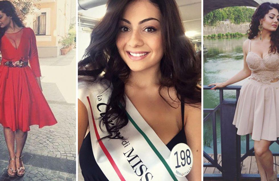 Paola Torrente: ecco chi è la ragazza curvy, classificatasi seconda a Miss Italia!