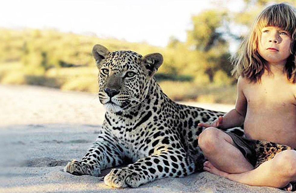 La auténtica niña de la selva: así creció entre animales salvajes
