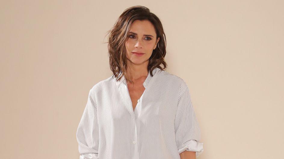 Victoria Beckham arborait-elle une tenue trop décontractée pour son défilé ? (Photos)