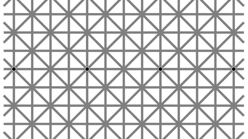 Wie viele Punkte sind es? Diese optische Illusion wird euer Gehirn vollkommen austricksen