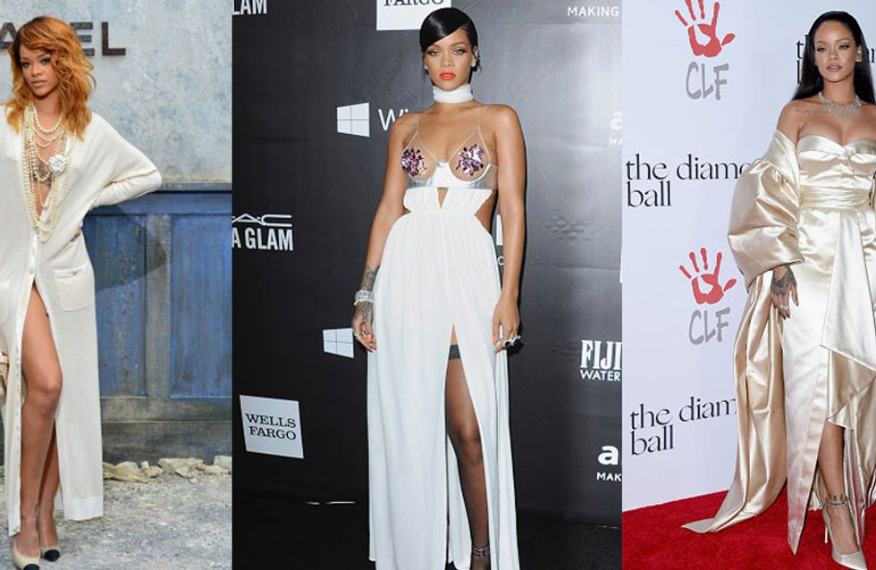 Take A Bow! Rihanna's Style Game Through The Years