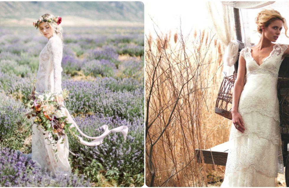 O vestido de noiva ideal para cada tipo de casamento