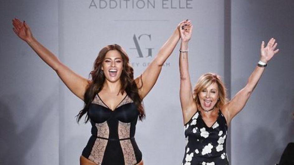 Ashley Graham a présenté sa ligne de lingerie plus size (et c'est sublime)