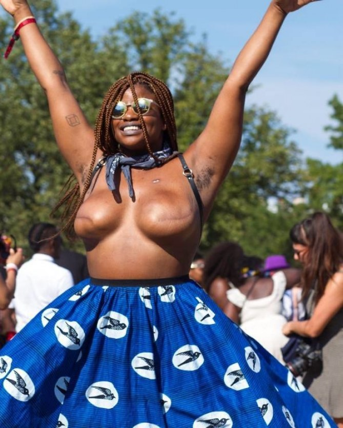 Ericka Hart au festival Afropunk
