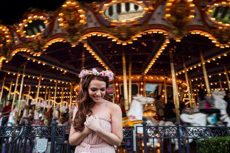 Brooke Lowry relookée en princesse Disney