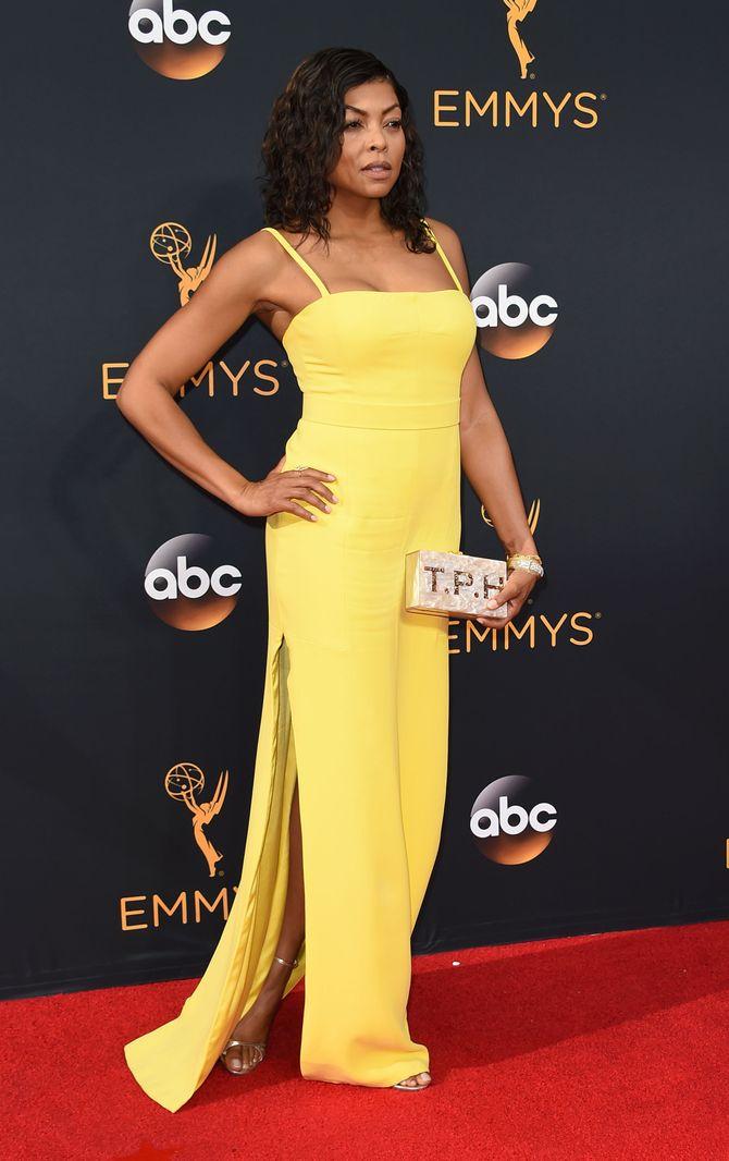 """L'actrice Taraji P. Henson """"Cookie"""" dans Empire, à la 68ème cérémonie des Emmy Awards"""