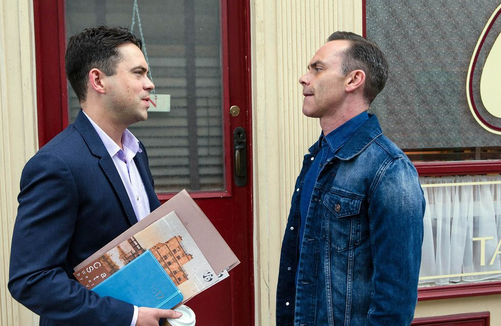 Coronation Street 09/9 - Billy Gives Eileen Food For Thought